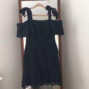 Chelsea 28 Off the Shoulder Lace Dress